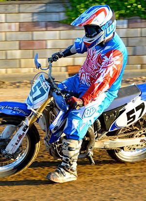Jake riding